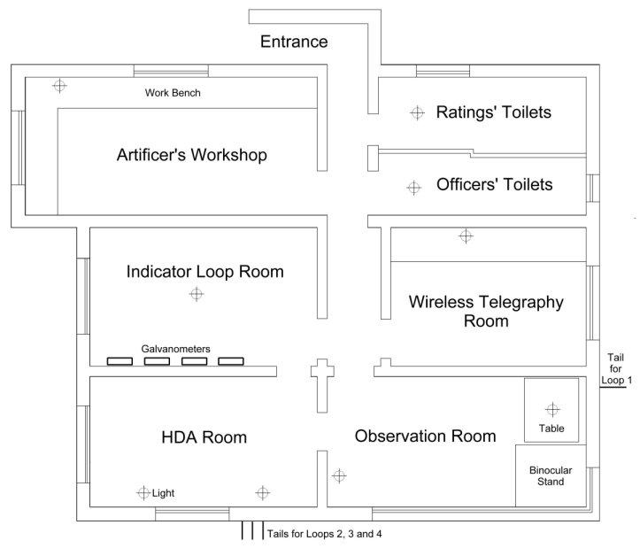 Shepherd Hut Floor Plans: Floor Plan Cape Royds Hut Source Conservation Report